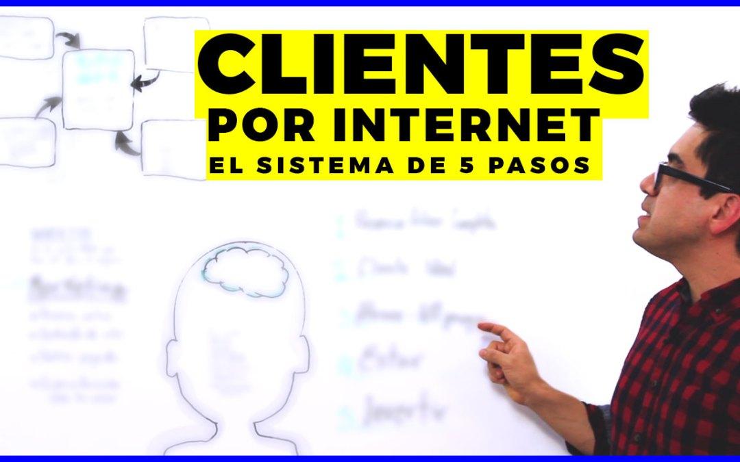 Cómo conseguir clientes por Internet efectivamente
