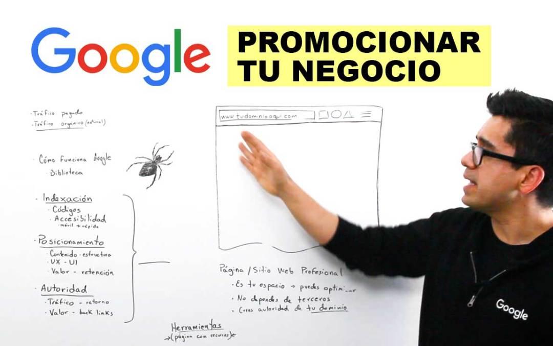 Cómo promocionar tu negocio en google