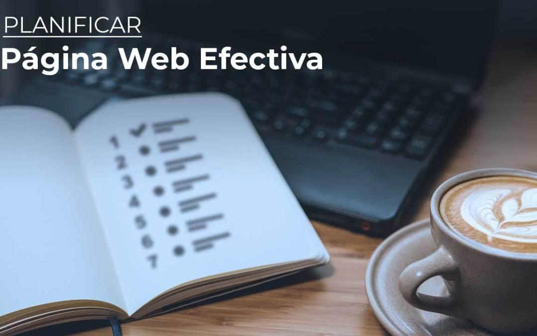 Cómo crear una página web efectiva – Los 7 elementos indispensables.