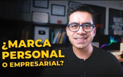 Marca Personal o Marca Comercial / Empresarial 🤔 – No cometas mi error