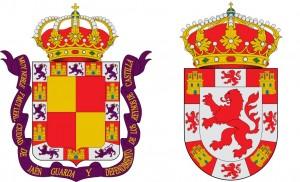 Escudos de Córdoba y Jaén