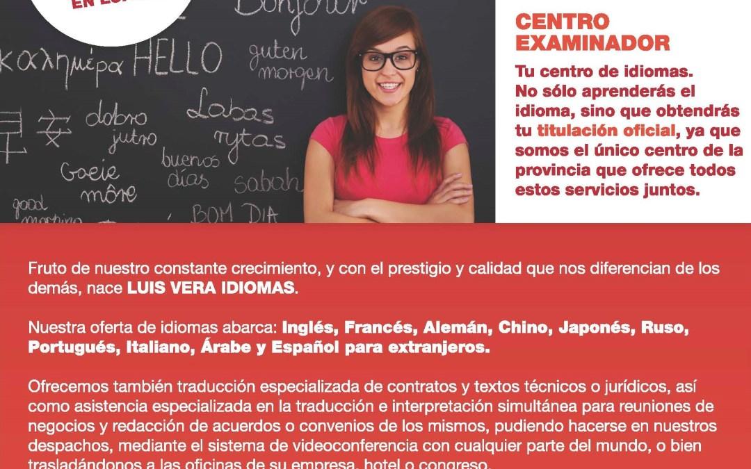 Nace Luis Vera Idiomas