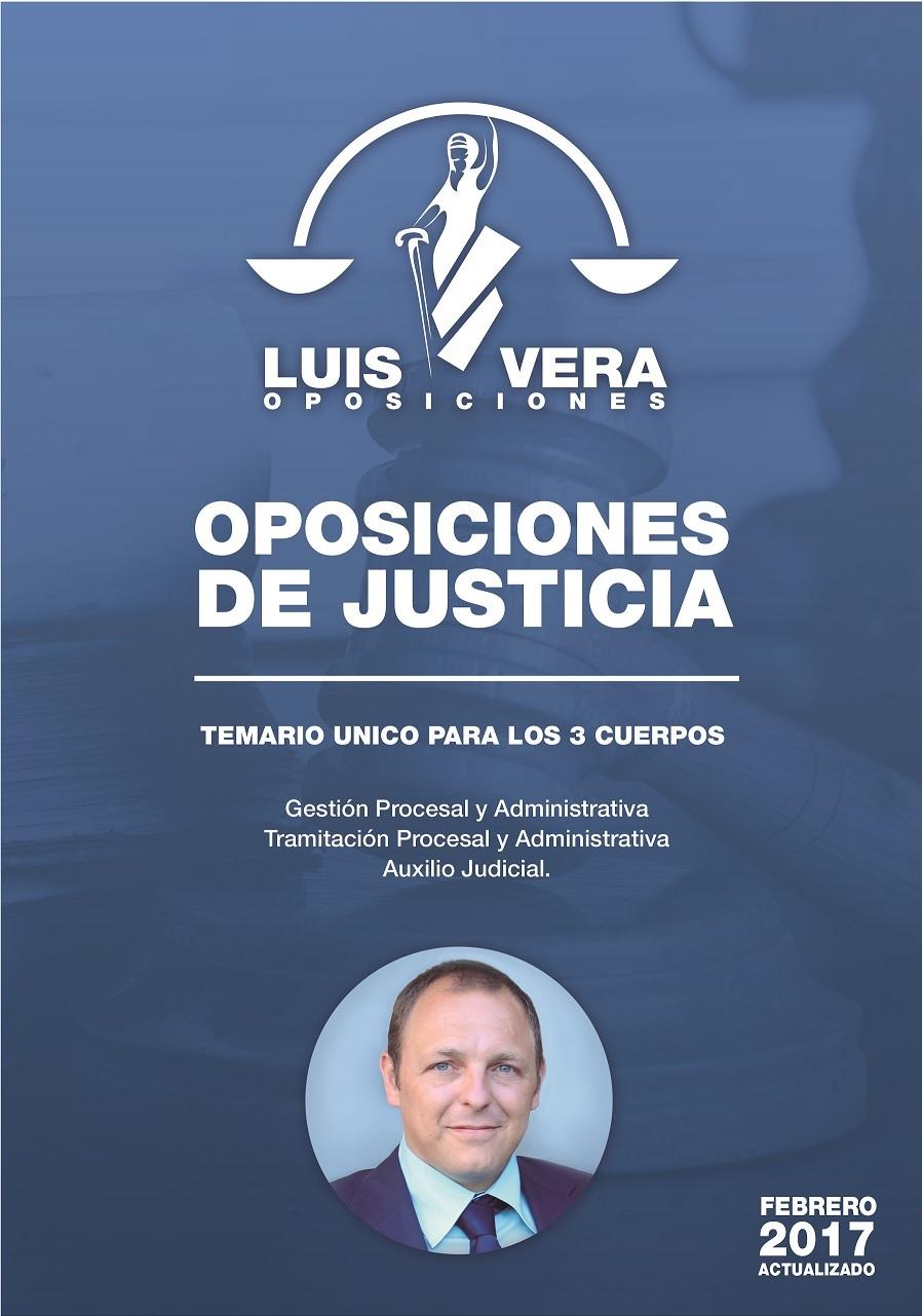 Temario de Justicia | Luis Vera Oposiciones