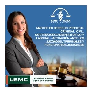 master en derecho procesal