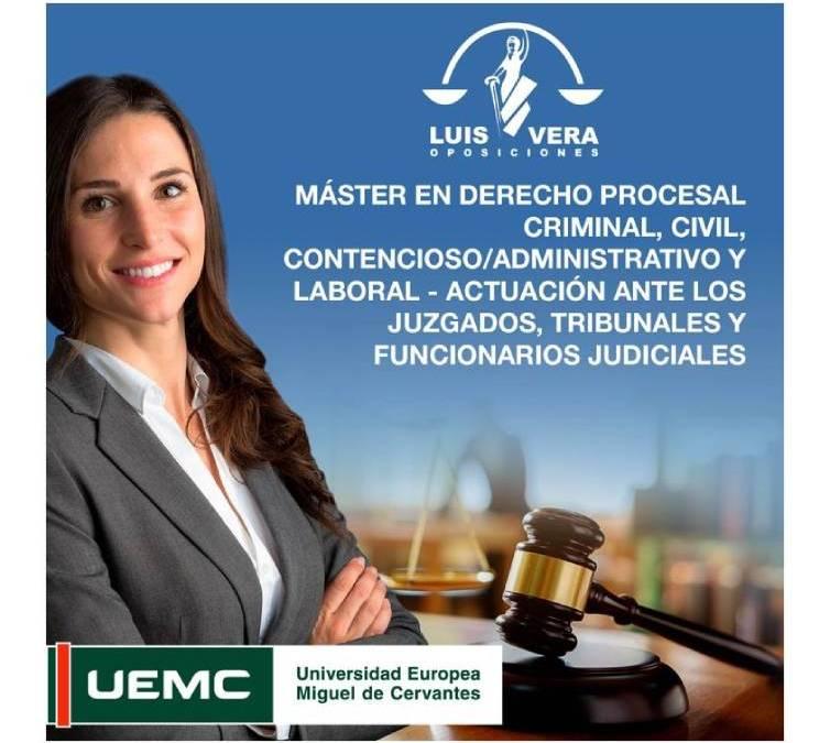Matricúlate antes del 4 de mayo en nuestro nuevo máster puesto en marcha en colaboración con la Universidad Europea Miguel de Cervantes