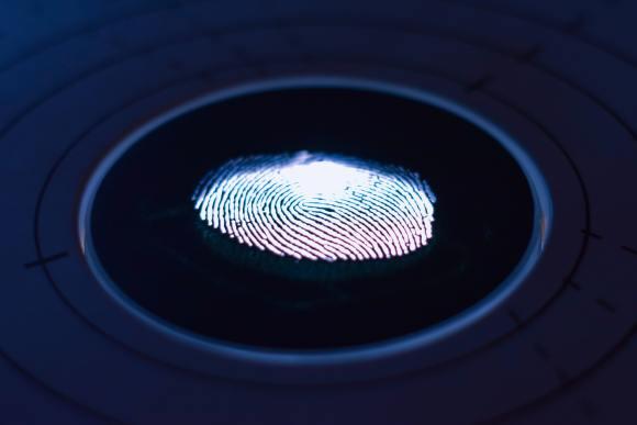 foto de impressão digital