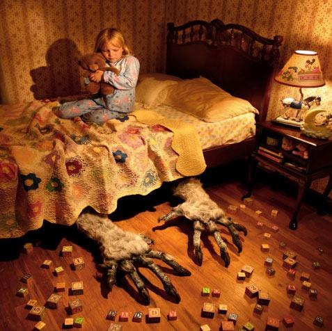 Monster under sengen