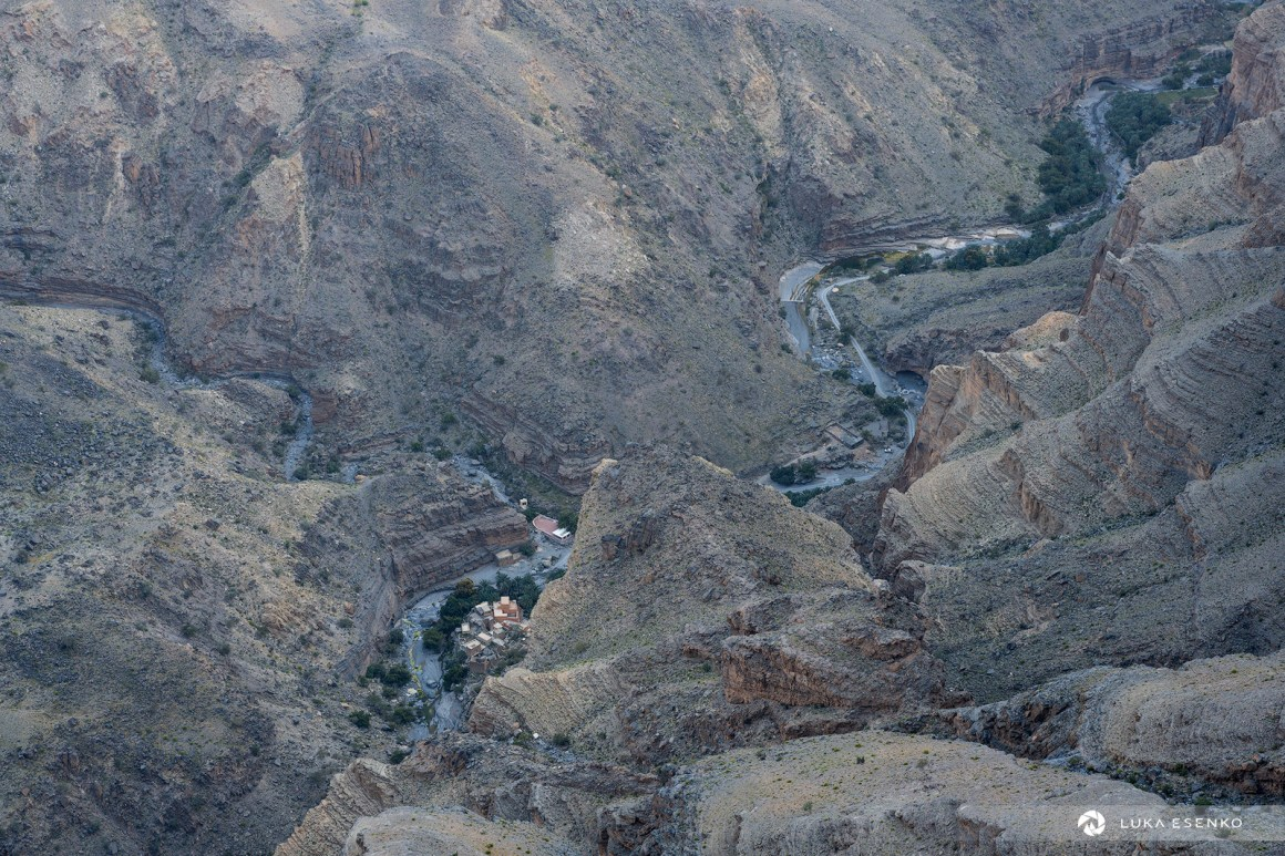 Wadi Ghul canyon