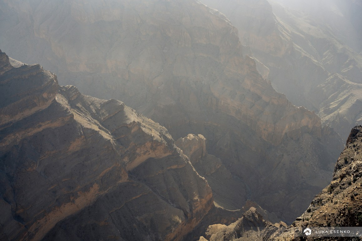 Balcony walk, Jebel Shams, Oman