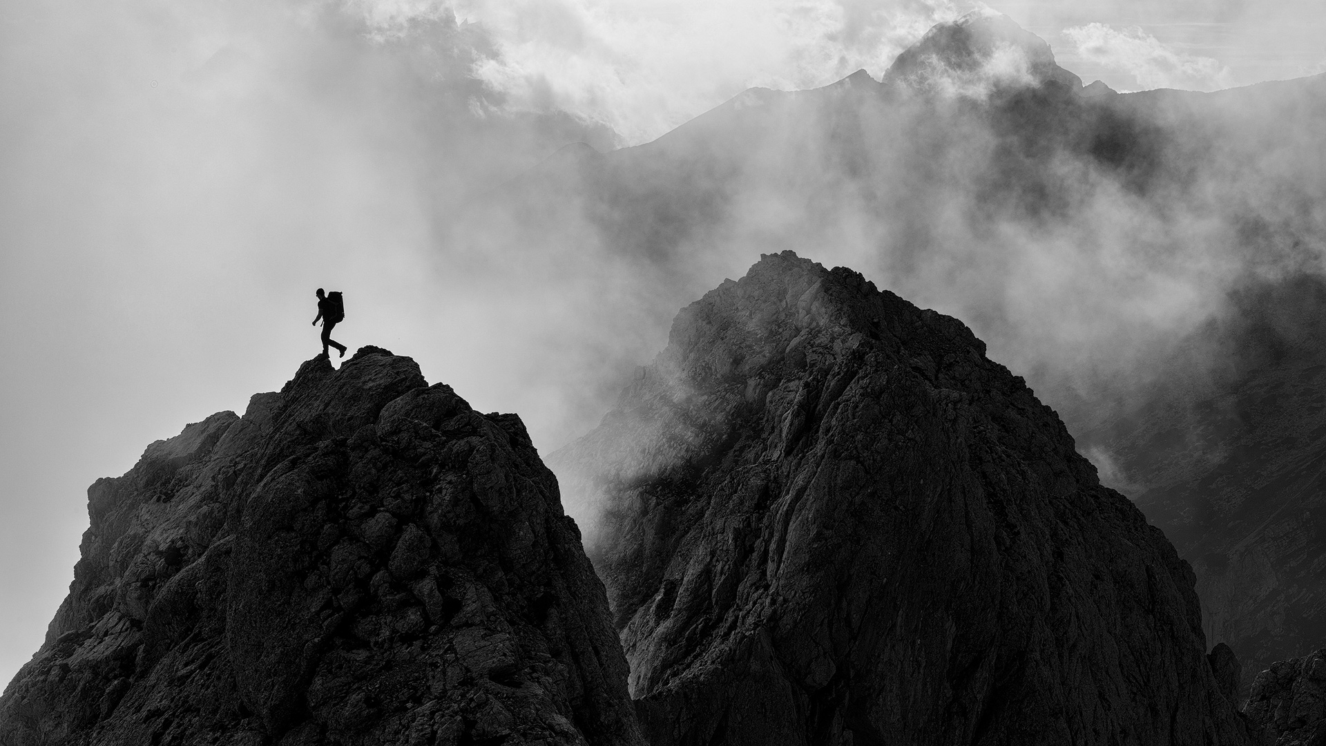 climbing Julian Alps