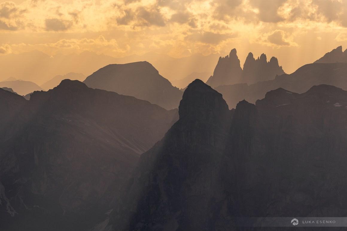 Photographing the Dolomites from Rifugio Lagazuoi