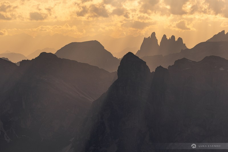 Photographing the Dolomites from Rifugio Lagazuoi