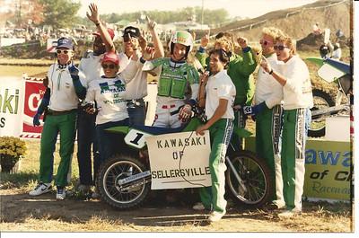 The Raceway Park Crew and KROC intermission winner John Thompson