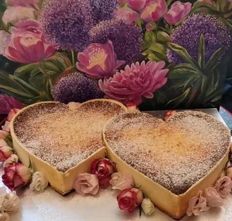 Herzen-Torte