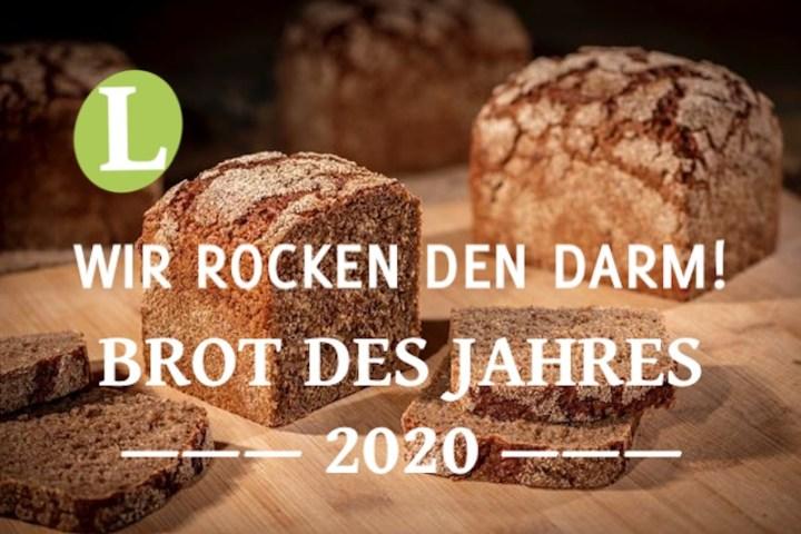 Roggen-Vollkornbrot, Brot des Jahres 2020