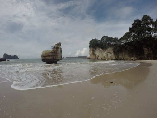 Cathedral Cove, einmal fast ohne Touristen!