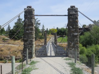 Ne alte Brücke in Alexandra