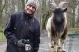 mit wichtiger Ziege (Foto: Julius Thiess)
