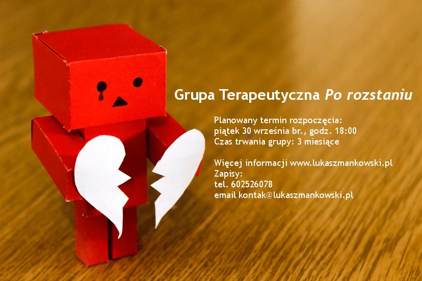 Grupa terapeutyczna: PO ROZSTANIU…