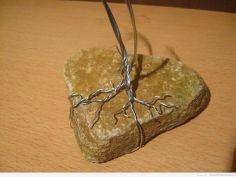 Zbliżenie druciane korzenie