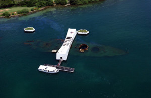 Arizona Memorial Overhead