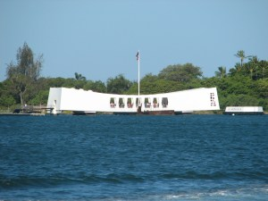 Arizona Memorial in Hawaii