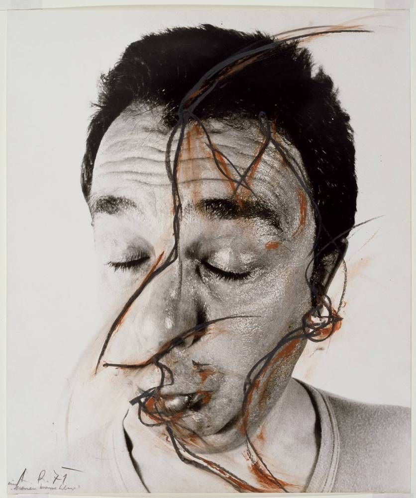 A Nose Adjustment (Face Farce) 1971 Arnulf Rainer born 1929 Purchased 1982 http://www.tate.org.uk/art/work/T03391