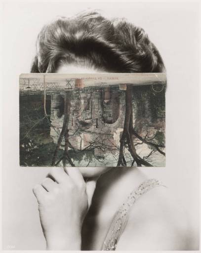 Mask XIII 2006 John Stezaker born 1949 Purchased 2007 http://www.tate.org.uk/art/work/T12346