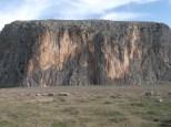 Cliffs at Anavarza