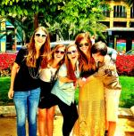 Spain 2013 with the girls!