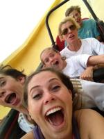 Family day at Six Flags
