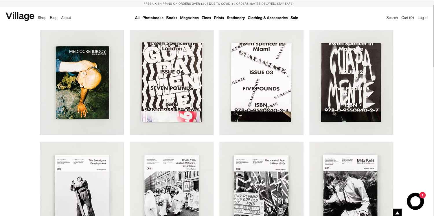 how to sell zines online, someone elses shop