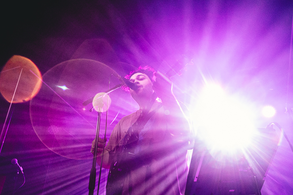 Richard Fairlie performs at Rock City on October 07, 2021 in Nottingham, England.