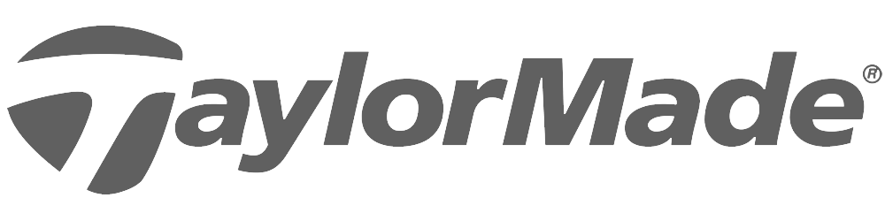 taylormade grey logo partnered with banner