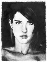 cobie_smulders_by_lukefielding-d6y37vh