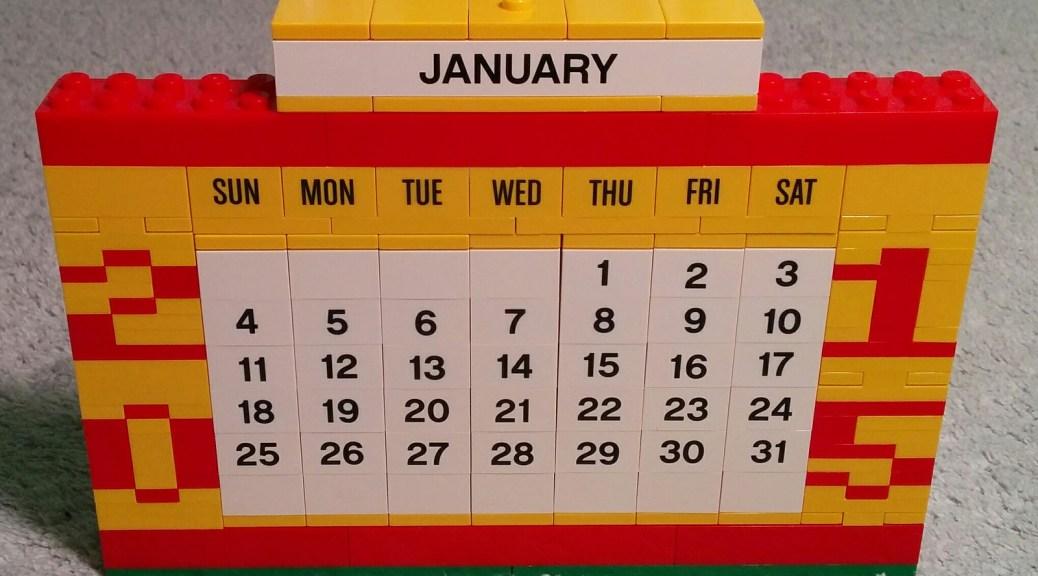 Lego Calendar