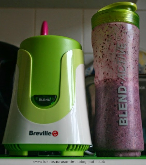 Toddler Approved Smoothies from Toddler In The Kitchen: Smoothies Using Breville's Blend-Active, from lukeosaurusandme.co.uk