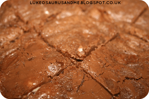 Triple Chocolate Cookies Brownies. Chocolate Cookie Brownie from lukeosaurusandme.co.uk