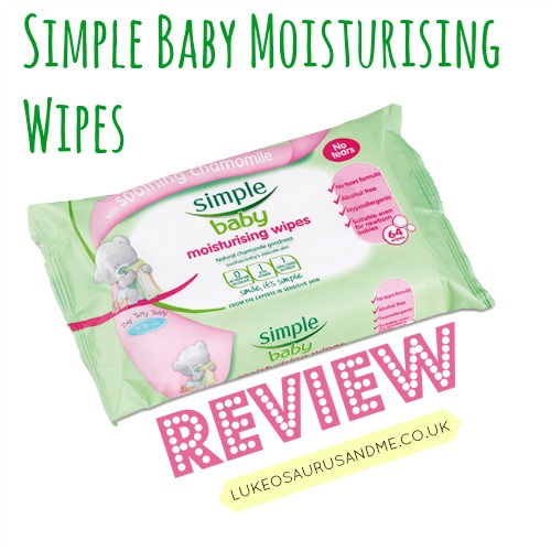 Simple Baby Moisturising Wipes Review from lukeosaurusandme.co.uk