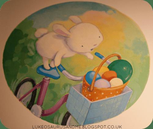 The Great Easter Egg Scramble Review. Easter Books. Cute illustrations from lukeosaurusandme.co.uk