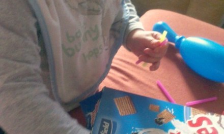 Cereal Box Fine Motor Skills Play