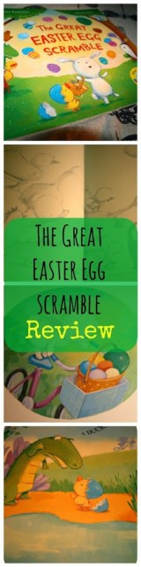The Great Easter Egg Scramble Review. Easter Books from lukeosaurusandme.co.uk