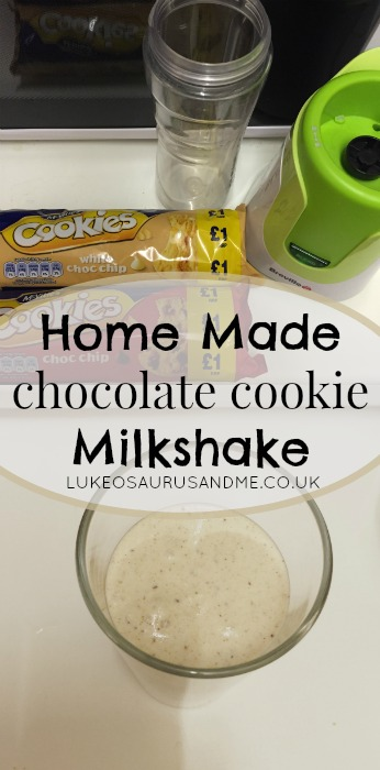 Home made Chocolate Cookie Milkshake from lukeosaurusandme.co.uk