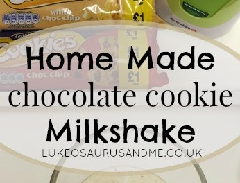 Home Made Chocolate Cookie Milkshake