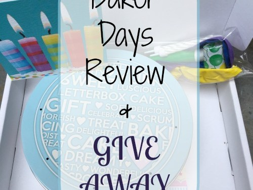 Baker Days Letterbox Cake Review (Give Away)