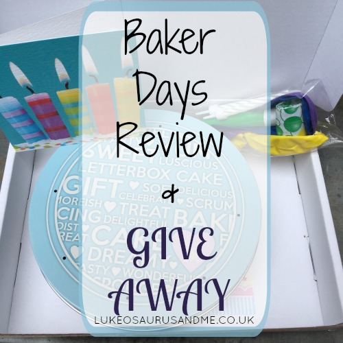 Baker Days Letterbox Cake Review from lukeosaurusandme.co.uk