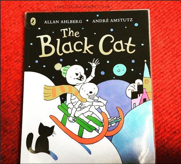 The Black Cat Childrens Book Review from lukeosaurusandme.co.uk