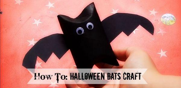 How To Halloween Bats Craft for Kids from https://lukeosaurusandme.co.uk