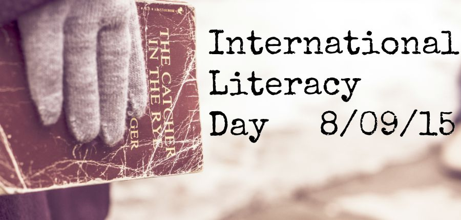 International Literacy Day 2015 at lukeosaurusandme.co.uk