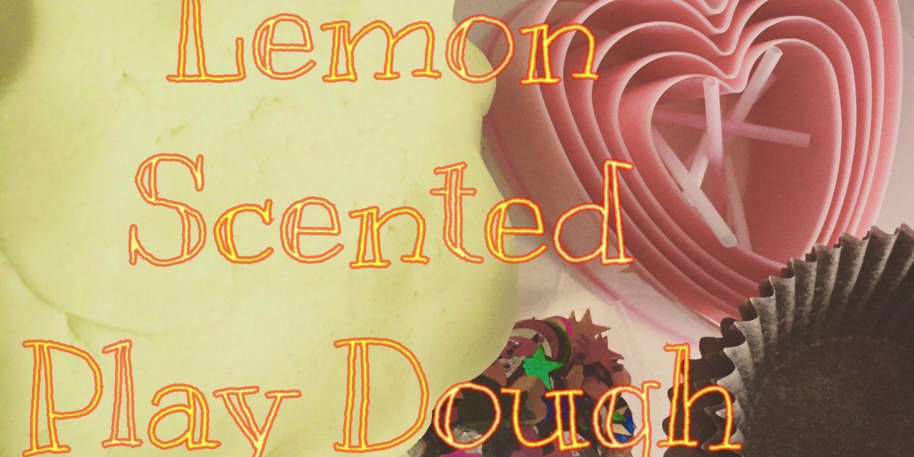 Play Dough: Green Lemon Scented